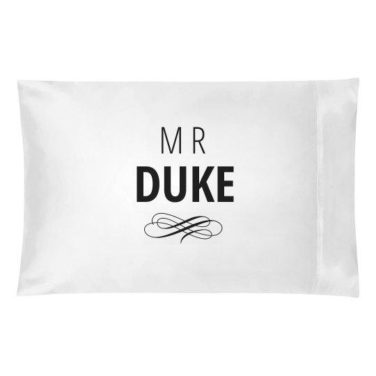 Just Married Matching Mr. Duke