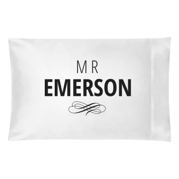 Just Married Matching Mr. Emerson