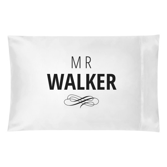 Just Married Matching Mr. Walker