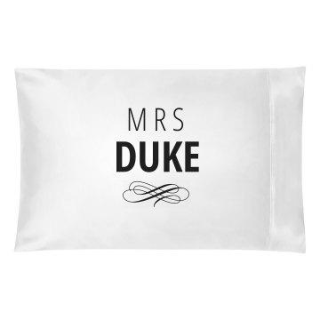 Just Married Matching Mrs. Duke