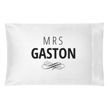 Just Married Matching Mrs. Gaston