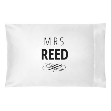 Just Married Matching Mrs. Reed