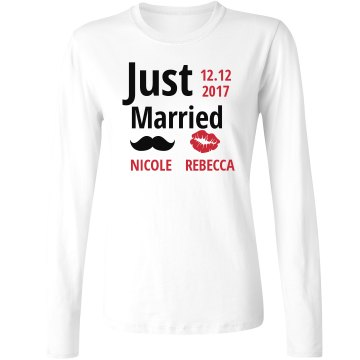 Just Married Tshirt