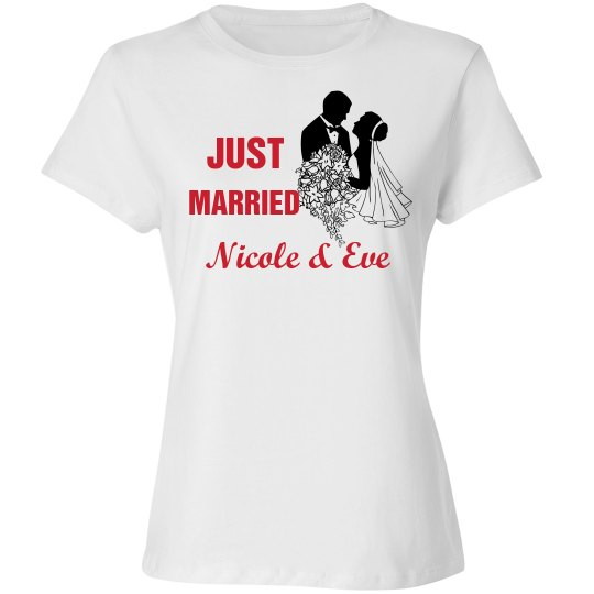Just Married Tshirt