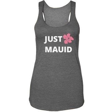 Just Mauid Hawaiian Wedding Tank Top