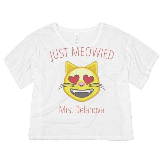 Just Meowied Cat Emoji