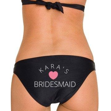 Kara's Bridesmaid Bikini