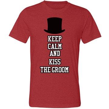Keep Calm and Kiss Groom