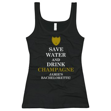 Keep Calm Champagne