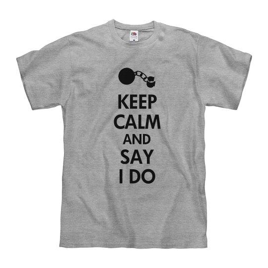 Keep Calm Groom