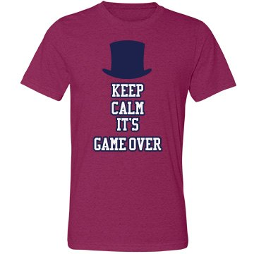 Keep Calm It's Game Over