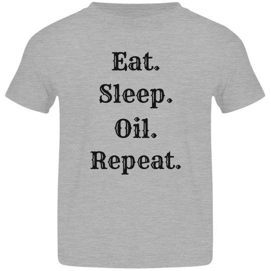 Kid oil shirt