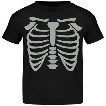 Kid skeleton shirt