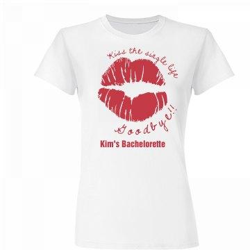 Kiss The Single Life Tee