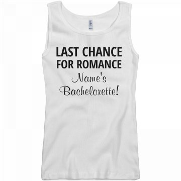 Last Chance for Romance
