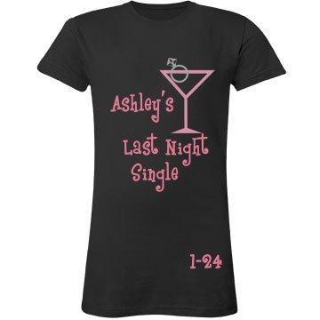 Last Night Single