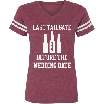 last tailgate party shirt