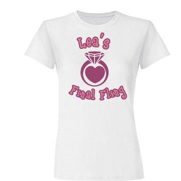 Lea's Final Fling Tee