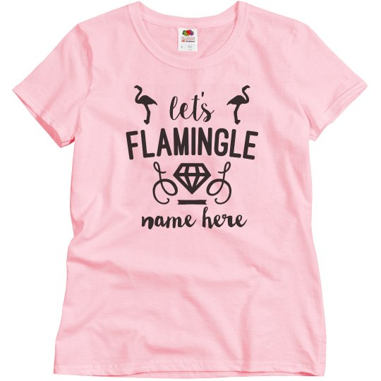Let's Flamingle Bridesmaid