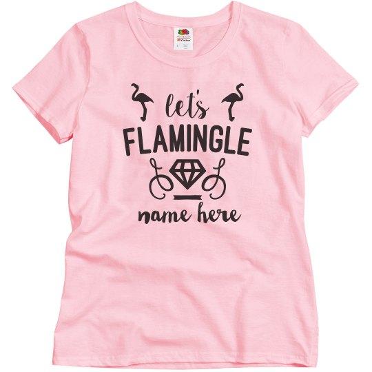 Let's Flamingle Bridesmaid
