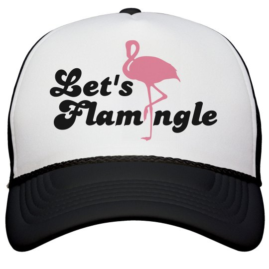 Let's Flamingle Hat