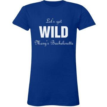 Let's Get Wild Tee