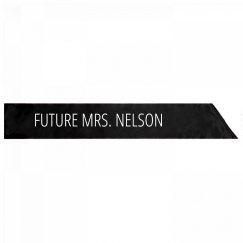 Future Mrs. Nelson Bachelorette Gift