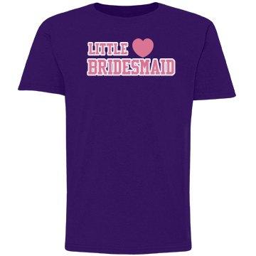 Little Bridesmaid Purple