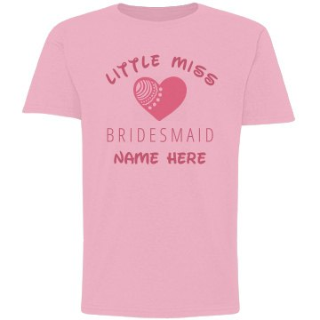 Little Miss Bridesmaid