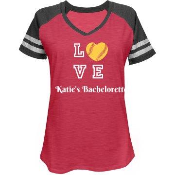Love Baseball Bachelorette