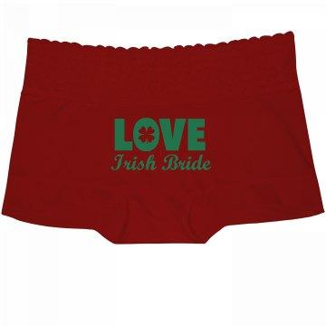 Love Irish Bride