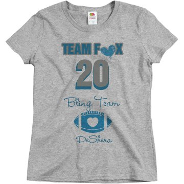 Love Team Fox Tee