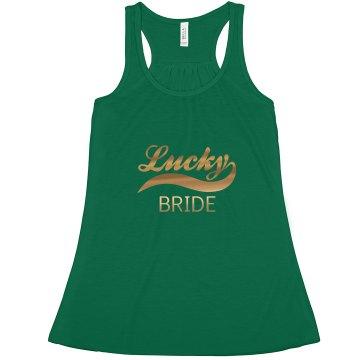Lucky Irish Bride Tank Top