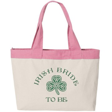 Lucky Irish Bride to Be Tote