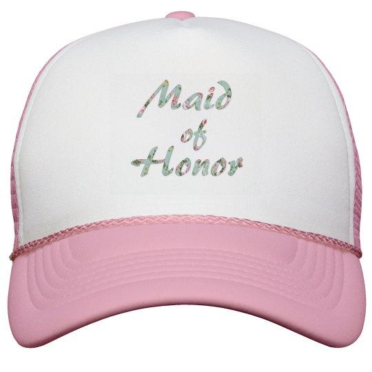 Maid of Honor Baseball Hat