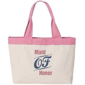 Maid of Honor Cavas Bag