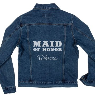 Maid of Honor Denim Jacket