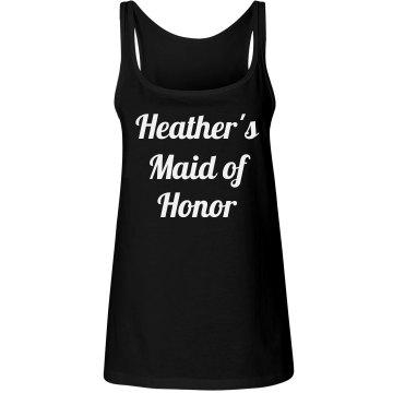 Maid of Honor Design