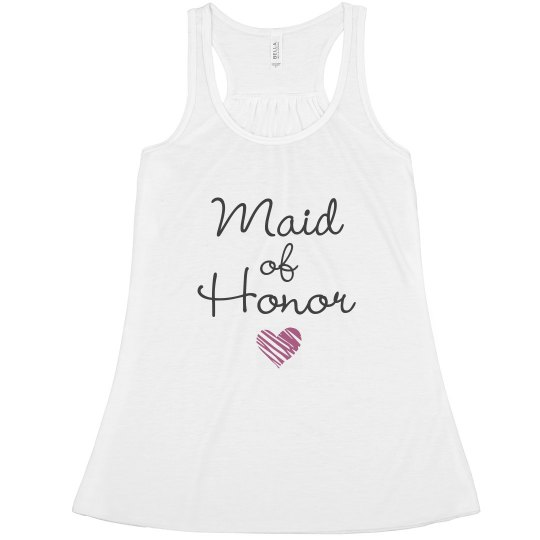 Maid Of Honor Heart