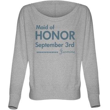 Maid Of Honor Hearts