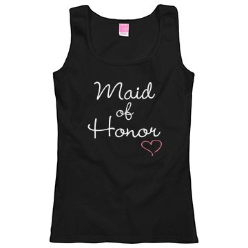 Maid of Honor Misses tee