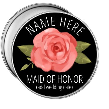 Maid Of Honor Proposal Tin