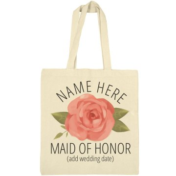 Maid Of Honor Proposal Tote