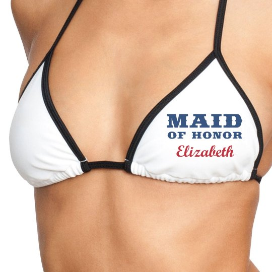 Maid of Honor Swimwear Top