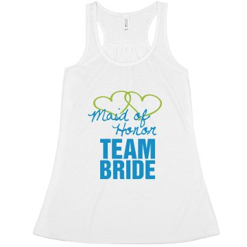 Maid of Honor team bride