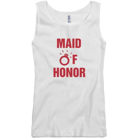 Maid of Honor Tshirt