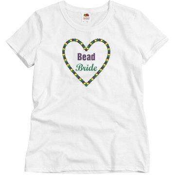 Mardi Gras Bead Bride