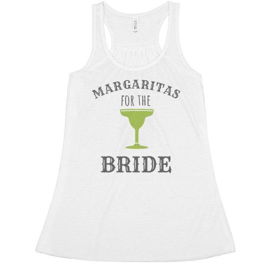Margaritas For The Bride Tank