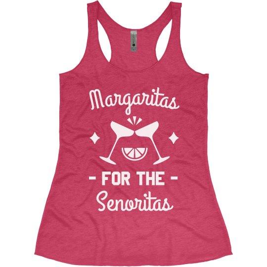Margaritas for the Senoritas Bachelorette Tanks