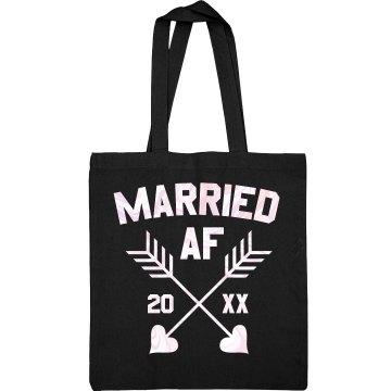 Married AF Custom Tote